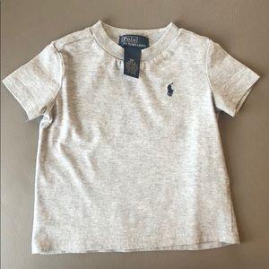 Polo RL Gray Tee Shirt Size 9 mos